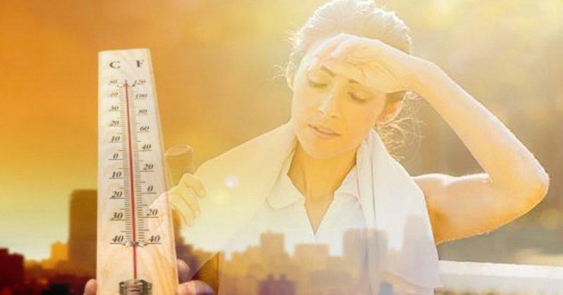 Ảnh hưởng của trời nắng nóng đối với sức khỏe