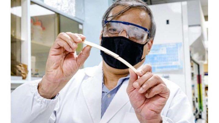 Chế tạo thành công keo siêu dính có thể phân hủy thành khí