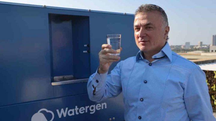 Công nghệ giúp chiết xuất trực tiếp nước uống từ không khí