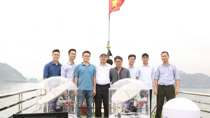 Việt Nam chế tạo thành công trạm thu di động tín hiệu vệ tinh