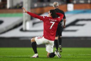 Cavani nóng lòng trở lại sau khi chứng kiến trận hòa của Man Utd